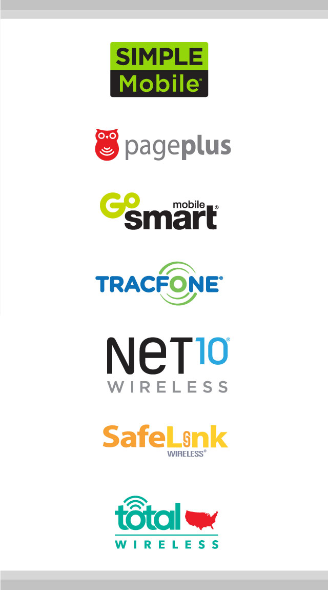 Total Wireless Exclusive Brands