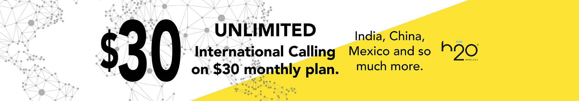 Unlimited $30 Monthly Plan