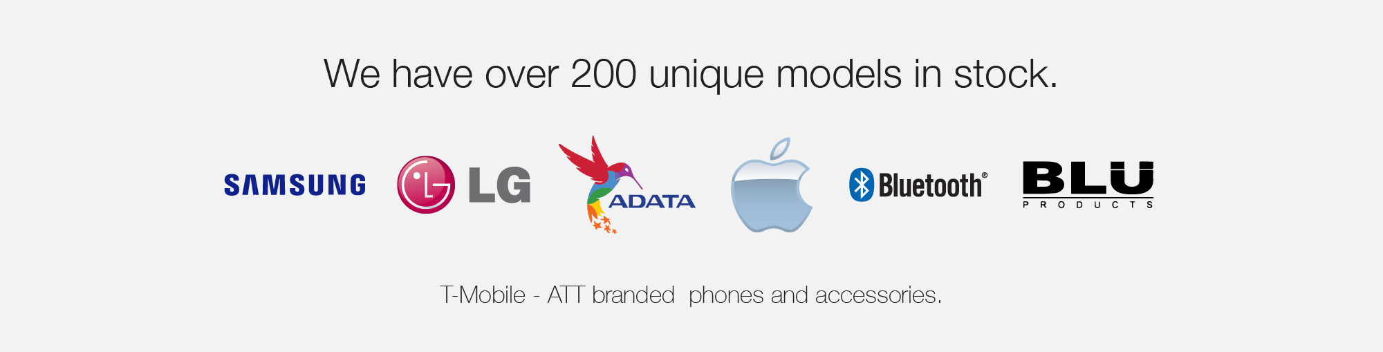 Over 200 Phone Models